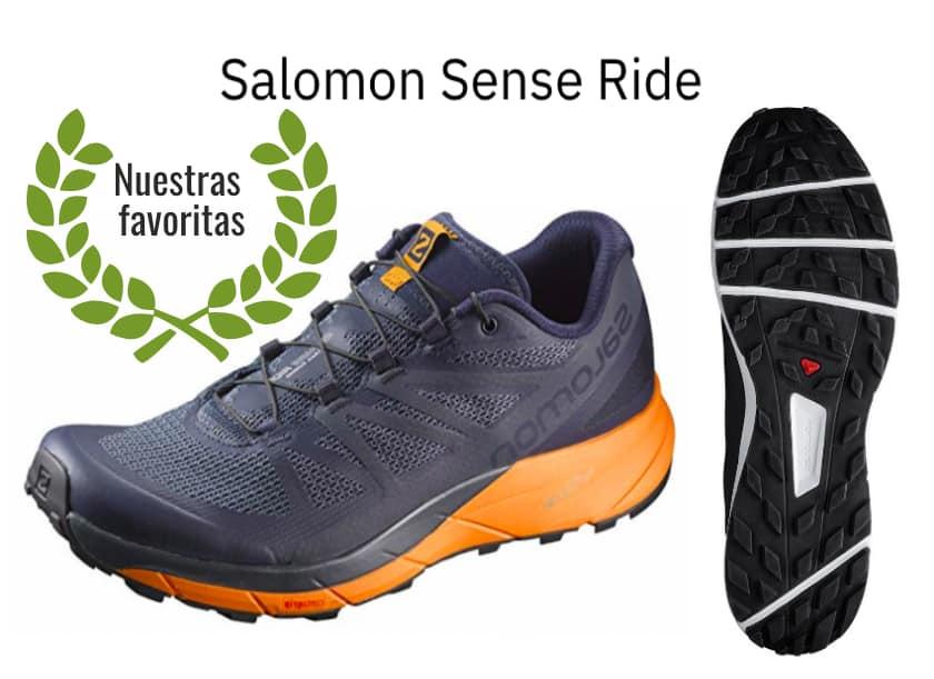 calzado salomon trail running gloves